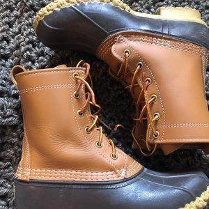 """L. L. Bean Women's Bean Boots 8"""""""